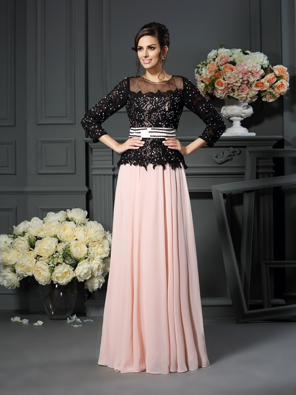 Floor-Length Pearl Pink Sweetheart Mother of the Bride Dresses