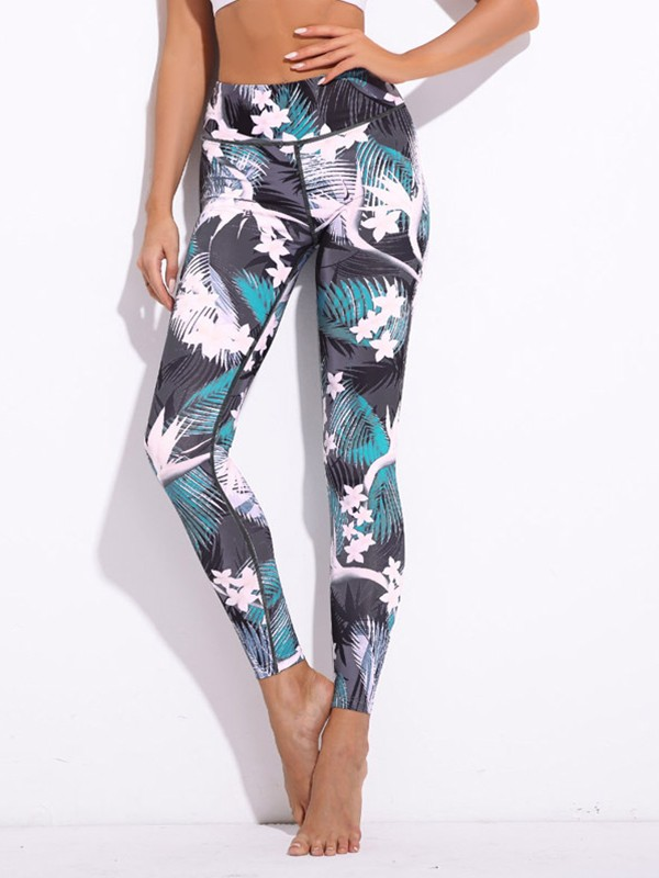 Soft Cotton Print Yoga Pants&Leggings