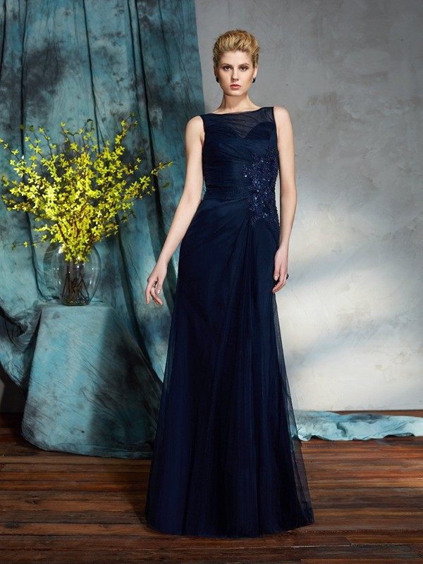 Sheath Bateau Floor-Length Other Mother of the Bride Dresses